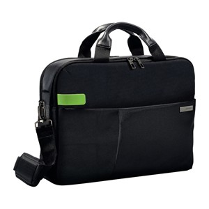 "Borsa smart traveller per PC 13,3"" nera Leitz Complete"