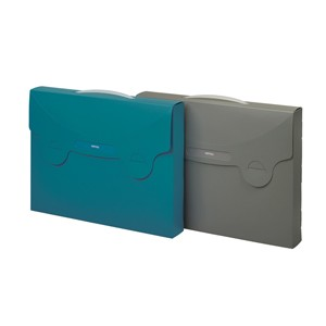 Valigetta porta documenti MATRIX blu ottanio 38x29cm FAVORIT
