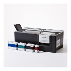 Timbro Verde Brother (14x38 mm) per Stamp Creator