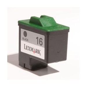 14ML Rigenerata Lexmark Jet Printer Z13/Z23/Z23E -Nera 16