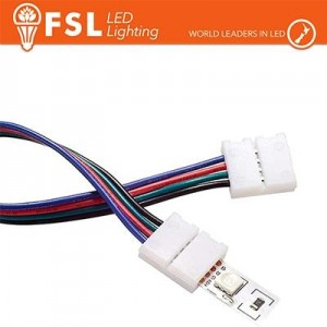 Connettore rapido 2END per strip 10mm LED RGB/RGBW