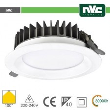 Downlight LED IP40 30W 4000K 2580LM 100º FORO:200mm