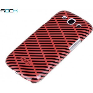 Cover Rock Luxurious Serie S3 i9300 Rosso