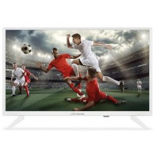 24'' LED TV Bianco - 720p HD con DVB-T2 8 bit con USB e EPG